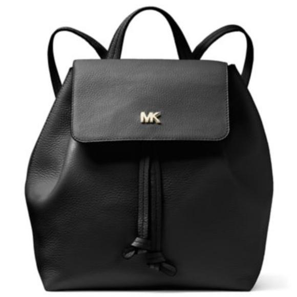984f53266300 Michael Kors Bags | Junie Md Flap Backpack | Poshmark